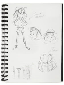 Scout Sketch Binder