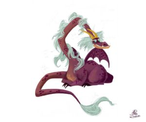 book character dragon